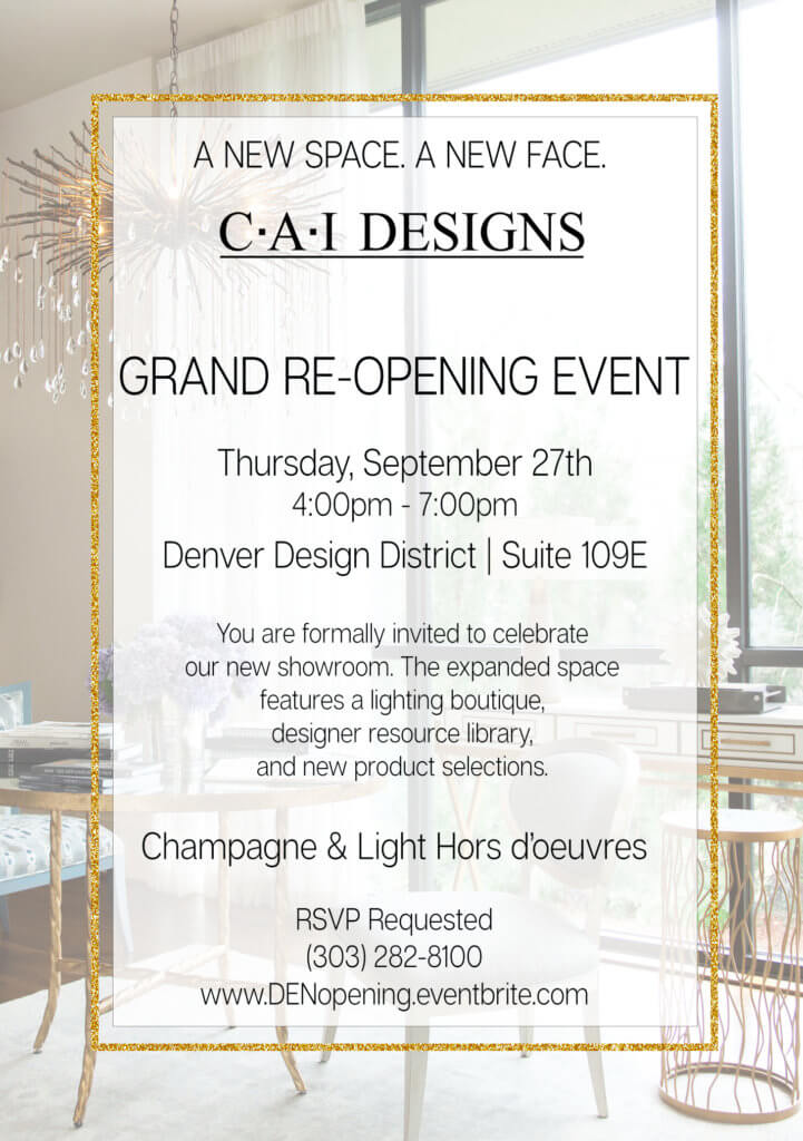 CAI Designs Grand Re Opening Celebration Party 09.27.18 721x1024