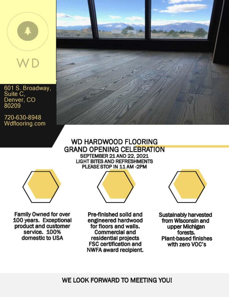 Official WD Flooring Invitation 791x1024