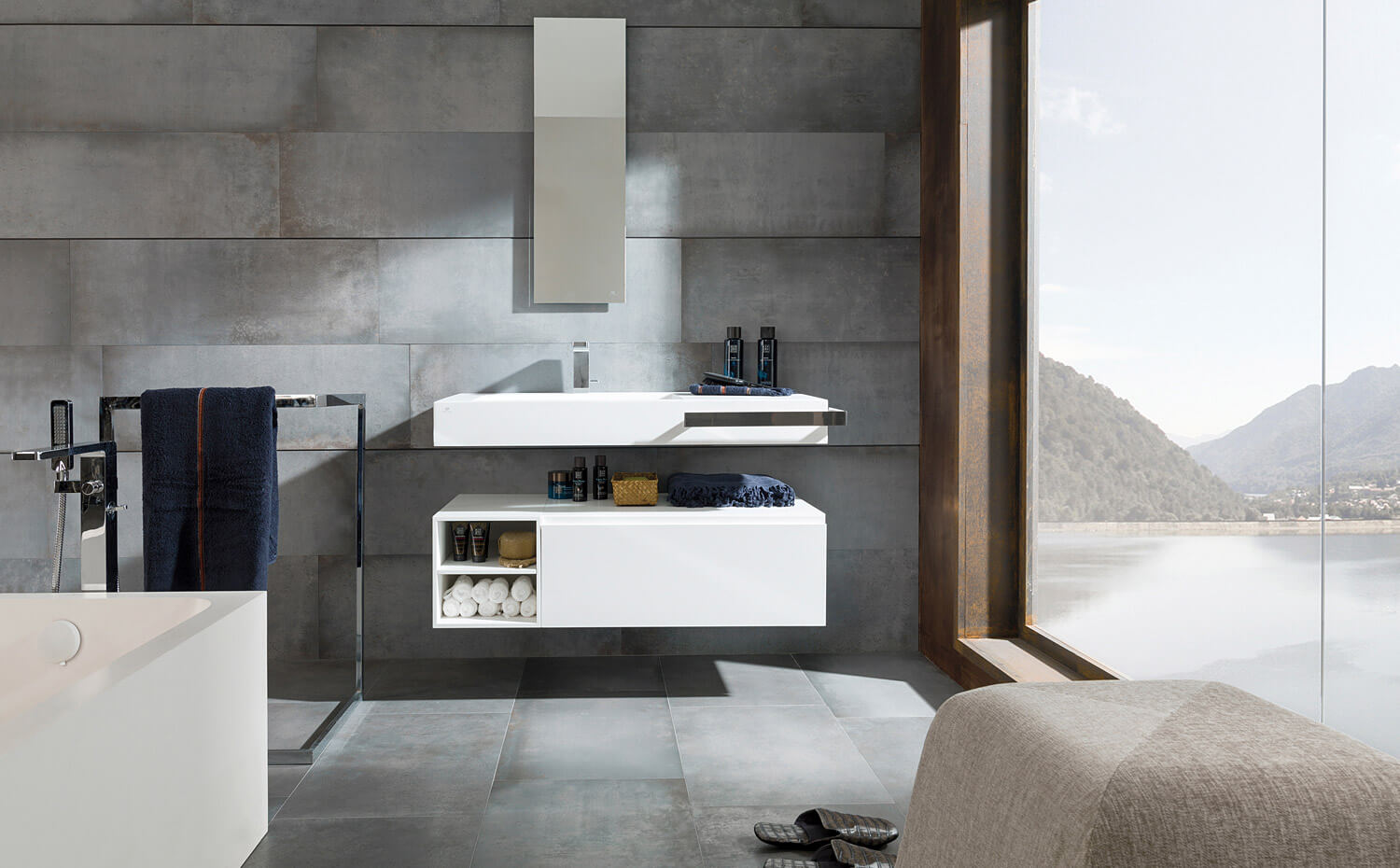 porcelanosa bathroom