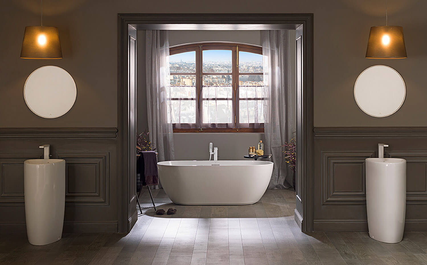 porcelanosa tub